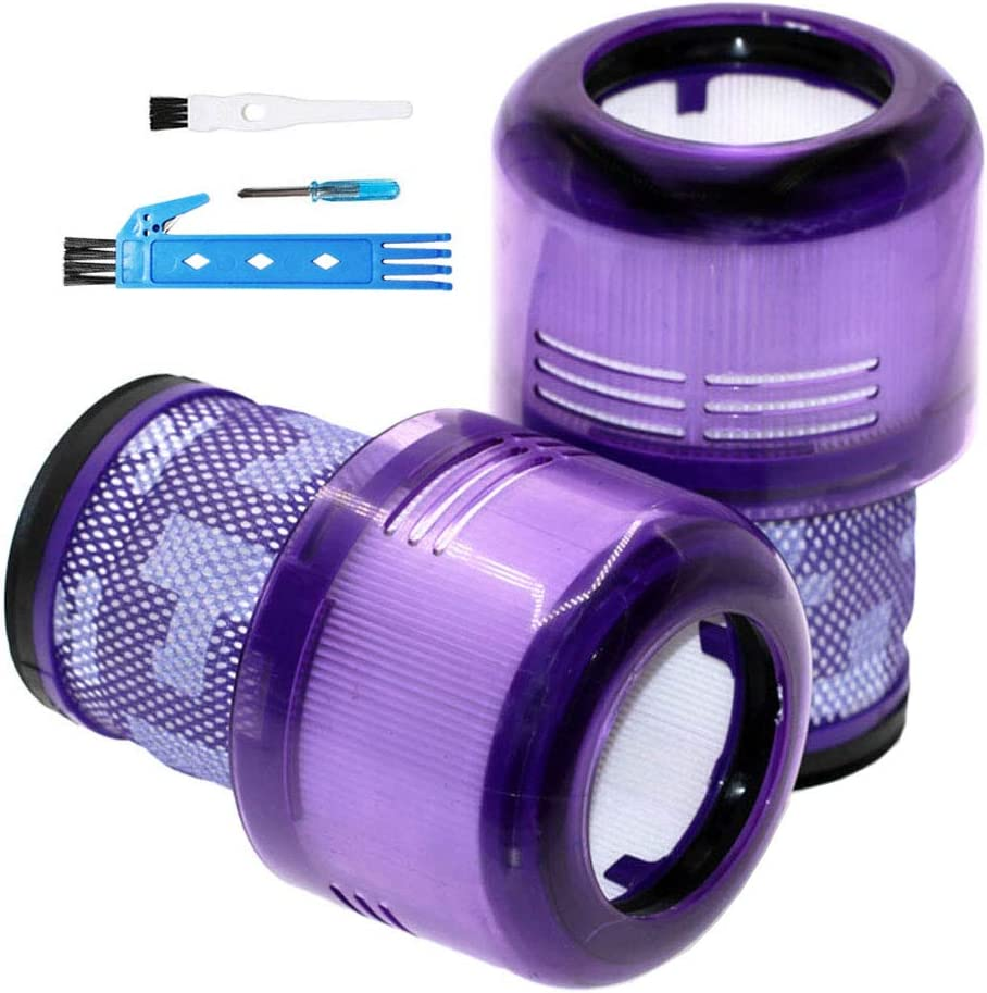 Theresa Hay 2 Pack Vacuum Filter Replacement for Dyson Cyclone V11 Absolute Animal Motorhead Total Clean, Filters Replaces Part