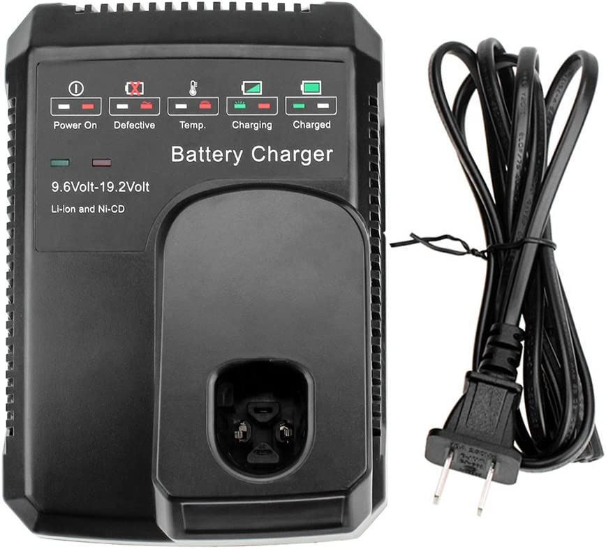 Replace for Craftsman 9.6V-19.2V Battery Charger C3 Diehard Ni-Cd Ni-Mh Lithium-ion Battery 130279005 1323903 11375 11376 315.115410 315.11485