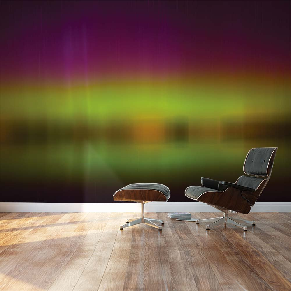 wall26 com art prints framed art canvas prints greeting wall26 blurred out purple and green northern lights reflection landscape wall mural removable sticker home decor 100x144 inches