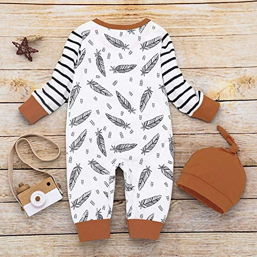 SUPEYA Toddler Baby Girls Boys Christmas Fleece Romper Pajama One-Piece Jumpsuit