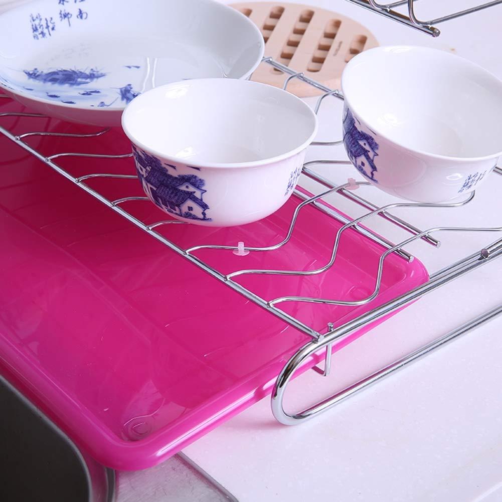 Shelf Storage Racks Pot Rack Storage Basket Shelf Baskets Cupboard Organizers Double Layer Dish Rack Kitchen Stainless Steel Storage Rack ZHAOYONGLI by ZHAOYONGLI-shounajia (Image #7)