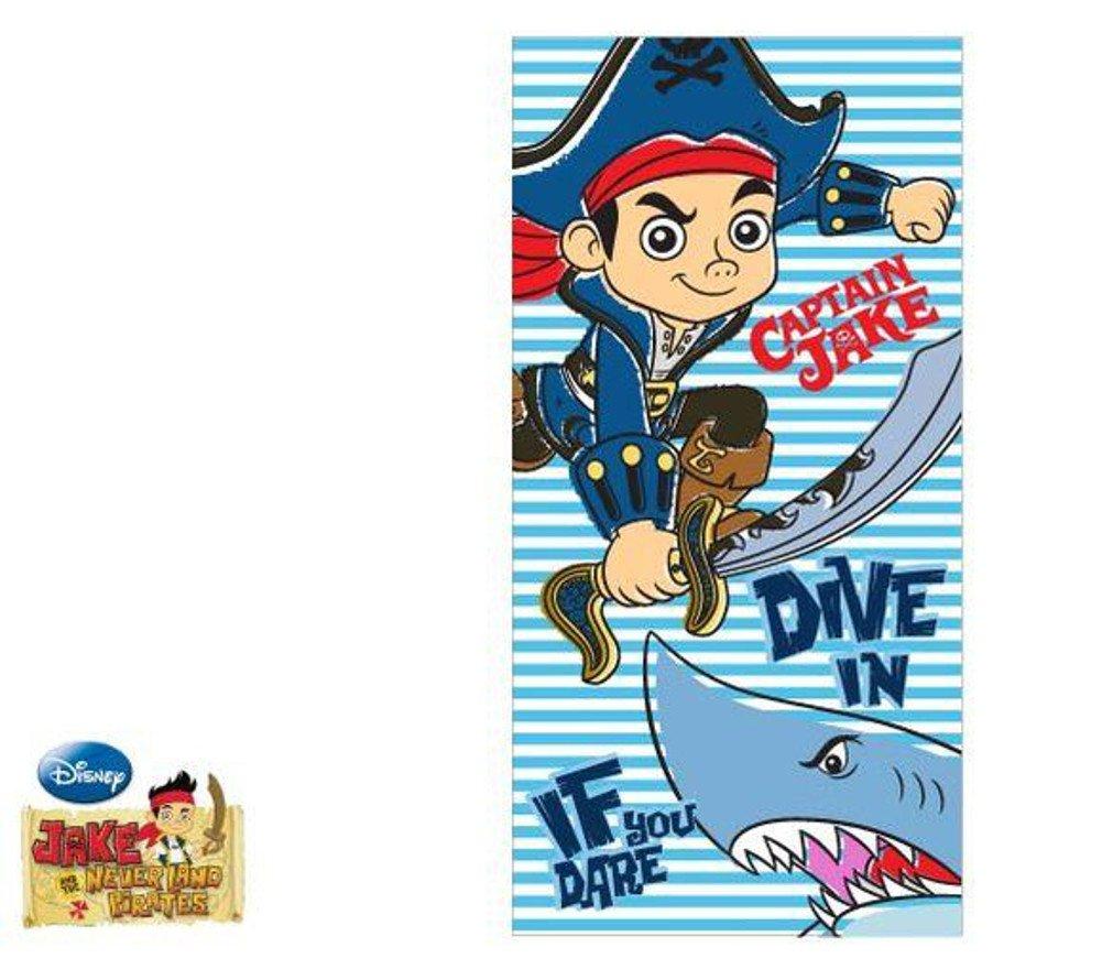 Telo mare Captain Jake 70x140 100% cotone EP4386. ASCIUGAMANO ORIGINALE CON LICENZA Javoli