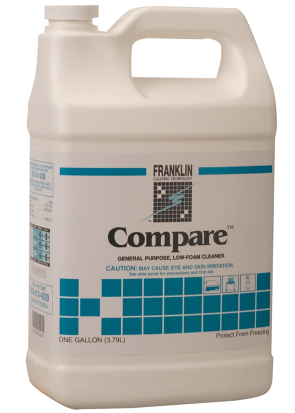 Franklin Cleaning Technology F216022 Compare General Purpose Low Foam Cleaner, 1 Gallon (Case of 4)