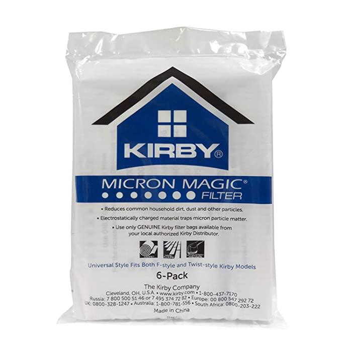 The Best Kirby Vacuum Bags F Style Arm And Hammer