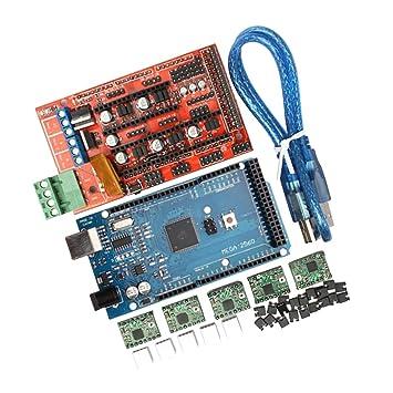 RAMPS1.4 + Mega2560 + A4988 + 2004 Impresora 3D Partes Controlador ...