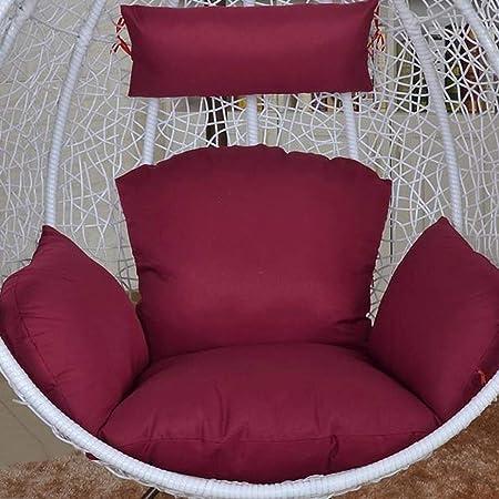 NACHEN Cojines de Columpio para Exteriores Cojín para Silla de jardín Terraza de ratán Cojín para Asiento de colchón Colgante de jardín,Color17: Amazon.es: Hogar