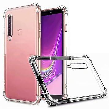 DYGG Compatible con Funda para Samsung Galaxy a20/a30 Carcasa Silicona Transparente TPU Protector Airbag Anti-Choque Ultra-Delgado Case Caso ...