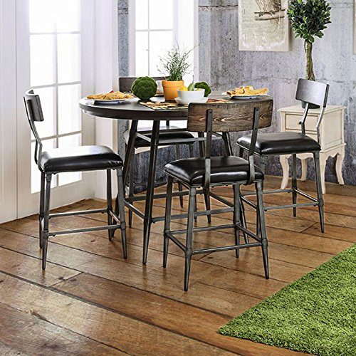 Cottage Counter Height Table (Mullane Round Counter Height Table Gray)