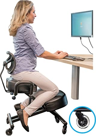 is desk kneeling chair solution computer for yoga furniture which you ergonomic posture right vs the ball