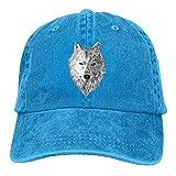 wolf head hat - Gorgeously Big Wolf Head Denim Baseball Caps Hat Adjustable Cotton Sport Strap Cap For Men Women