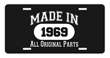 Amazon ThisWear 50th Birthday Gifts Made 1969 All Original