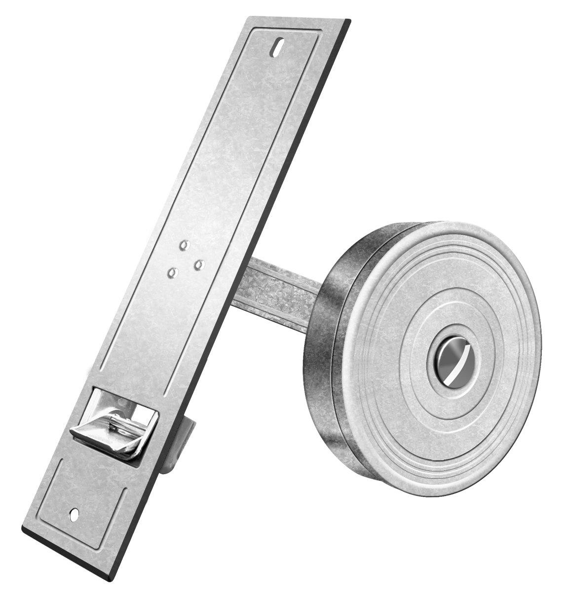 Schellenberg 50401 Avvolgitore di Entrata Maxi per Cinghie per Avvolgibili con Larghezza da 23 mm, Grigio