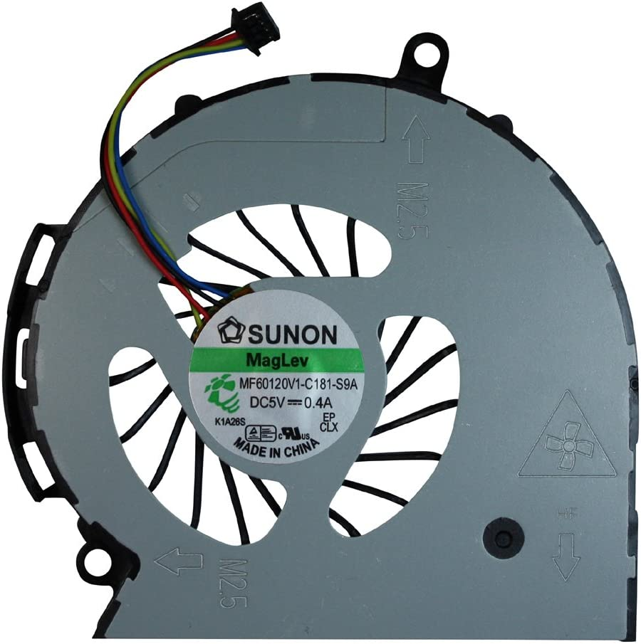 Compaq Notebook PC 15-a009nf Compaq Notebook PC 15-a006sg Compaq Notebook PC 15-a007sz Power4Laptops Replacement Laptop Fan for Compaq Notebook PC 15-a006sf Compaq Notebook PC 15-a007sf
