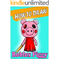 How to Draw Roblox Piggy Character : Step by Step Easy Drawing Book for All Kids & Adults #1