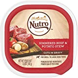 Nutro Wet Dog Food Cuts In Gravy Simmered Beef & Potato Stew, (24) 3.5 Oz. Trays For Sale