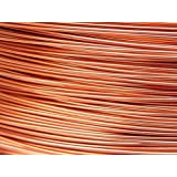 10 Mètres fil aluminium cuivre 0.8 mm