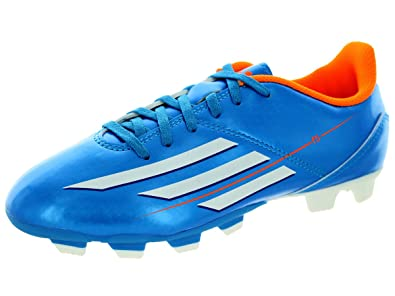 f08f408c3a9 Image Unavailable. Image not available for. Color  adidas F5 TRX FG J Cleats  Shoes - Solar Blue (Little Kid Big Kid