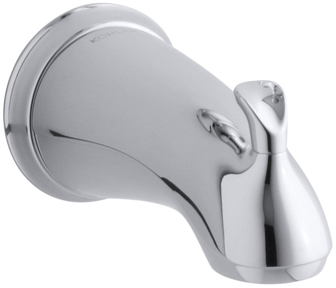 KOHLER K-10281-4-BN Forte Sculpted Diverter Bath Spout, Vibrant ...
