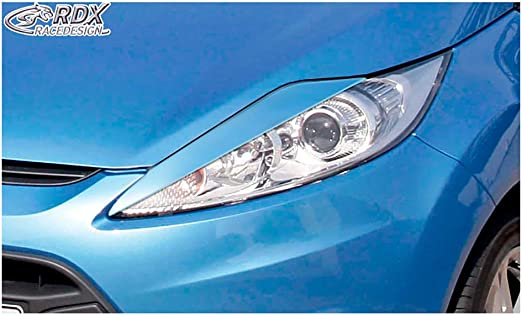 ABS RDX Racedesign RDSB144 Head Light Spoilers Ford Fiesta VII Facelift 2012-2017