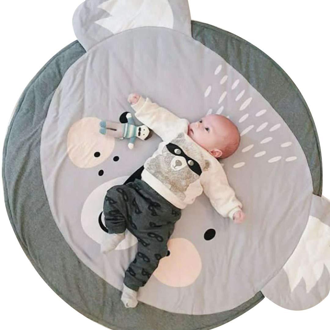 Giraffe sdtdia Baby Teppiche Kriechende Krabbeldecke Cartoon Tiere Schlafende Teppiche Babyspielmatte Durchmesser 90cm