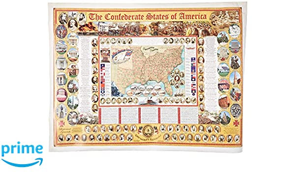Confederate States of America Poster Box of 12, The (Civil War State ...