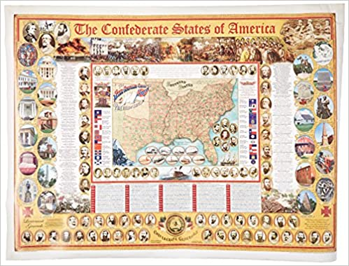 Confederate States of America Poster Box of 12, The (Civil ...
