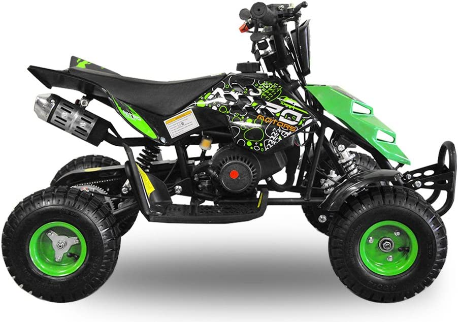 Schwarz Nitro Motors 49cc Kinderquad Repti 4 Miniquad Mini Quad ATV Bike Kinder