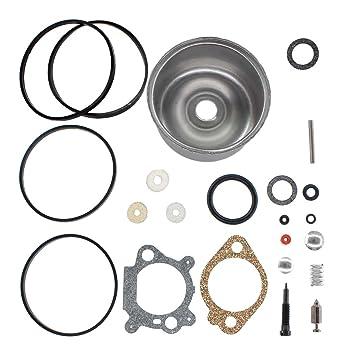 uspeeda carburador flotador cuenco revisión reconstruir Kit de reparación para Briggs & Stratton 3,5