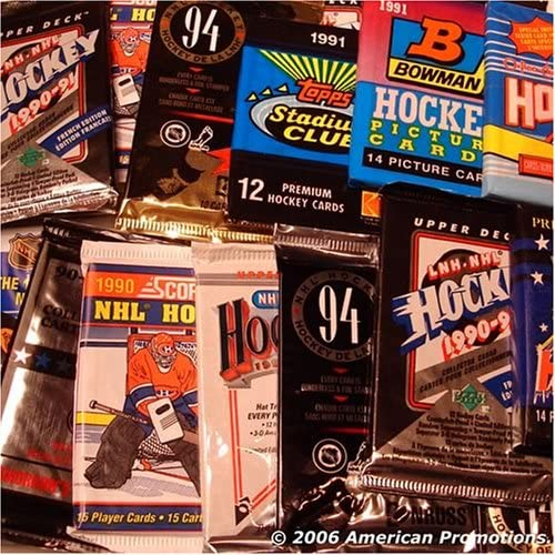 B000I9JVAS NHL Hockey Trading Cards. Collection of NHL Hockey Card Set of 30 Unopened Assorted Packs From Different Years and Brands. Includes AUTOGRAPHED SIGNED Booklet of Sports Card Mania. 61V3XWRNYZL