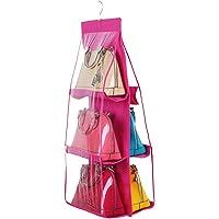 Ağır 6çanta el çantası asmak için depolama alanı Organizer Açık dokusuz kumaş Cüzdan kavramalar el çantası el havlusu günlük ihtiyaçların-tutacağı ayakkabı Collection Anti-Toz elbise dolabı yer tasarrufu sağlar