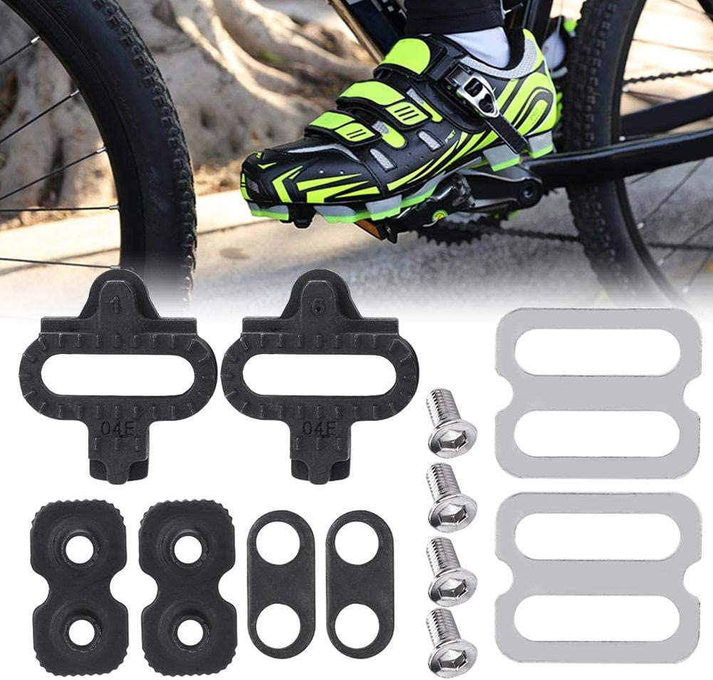 Juego de Calas de Tacos de Bicicleta de Montaña Cleat Set,Cala de ...