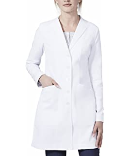 0d137bc8ee6 Medelita Women's Vera G. Slim Fit M3 White Lab Coat by Professional Fit With  Performance