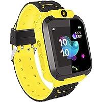 linyingdian Smartwatch Niños, Reloj Inteligente Niña IP67, LBS, Hacer Llamada, Chat de Voz, SOS, Modo de Clase, Cmara…