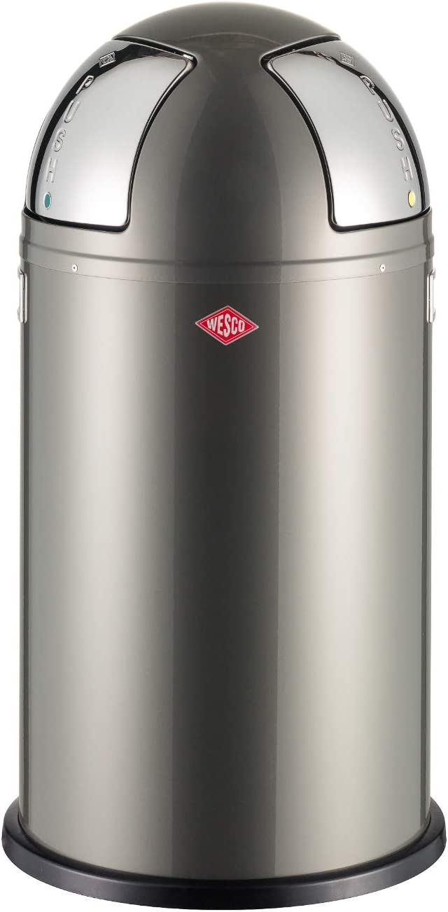 Wesco 175 861-13 Poubelle Pushboy Two Graphite