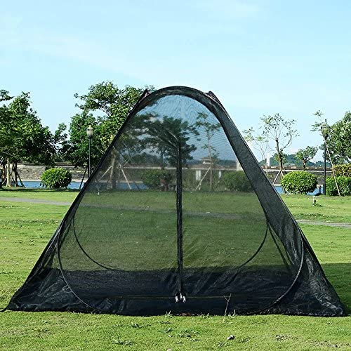 LEOSO Lightweight Anti-Mosquito Mesh Net Tent for Hiking Camping Beach 2 Person