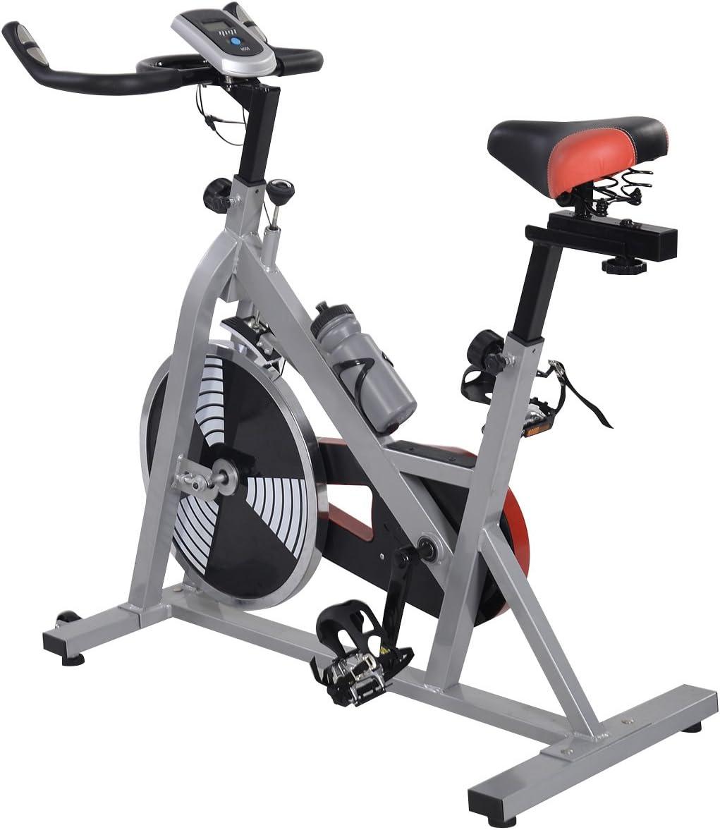tangkula Spinning Bike Ciclismo indoor salud Fitness bicicleta ...
