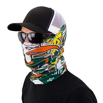 Amazon University Of Miami Bandana Headband Combo Represent