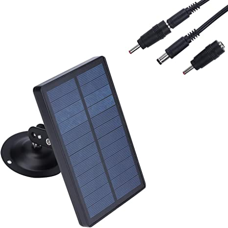 LEVEL GREAT Panel Solar al Aire Libre cámara de la Caza Solar Cargador de energía Solar Cargador de la cámara a Prueba de Agua con energía Solar Tren ...