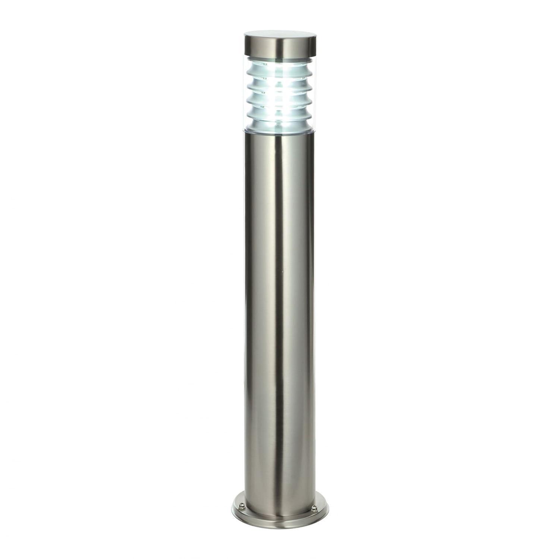 Saxby Equinox 23W Marine Grade Brushed Stainless Steel Modern Outdoor Garden IP44 Bollard Light