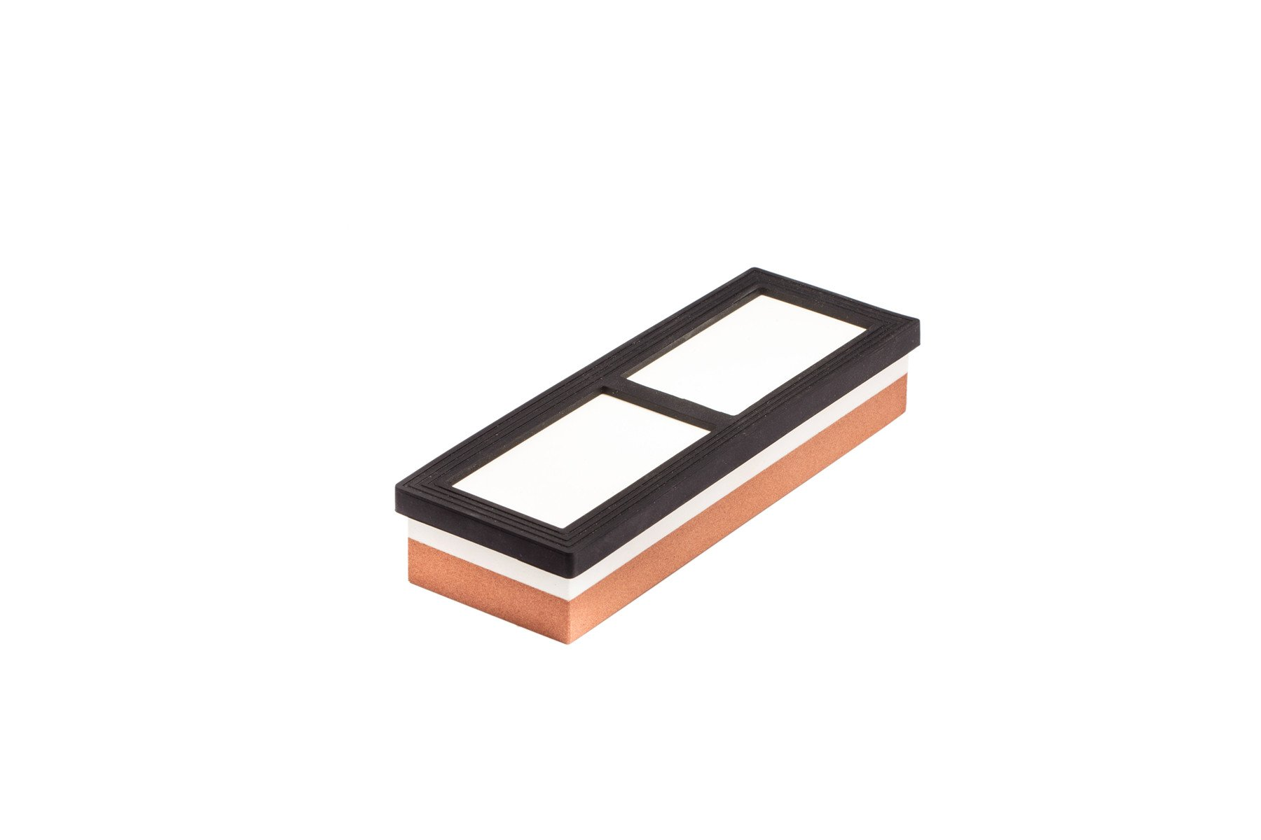 Whetstone — Lupan Double-Sided Knife Sharpening Stone Grit with sturdy non-slip rubber Base (3000/8000) by Lupan (Image #4)