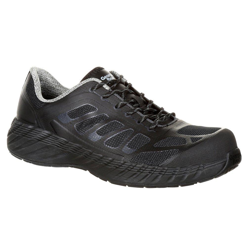 Georgia BootメンズブラックReflx Composite Toe Athletic作業靴gb00220 8 M B077MPNWZX