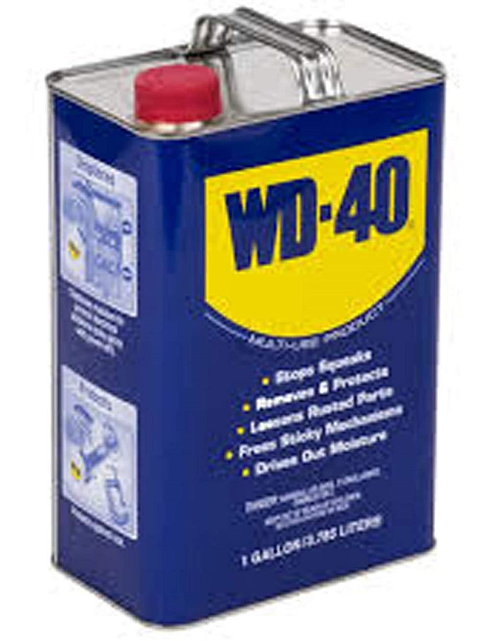 WD-40 490111 multiusos lubricante producto Heavy Duty un galón, 1 Gallon, 1: Amazon.es: Industria, empresas y ciencia
