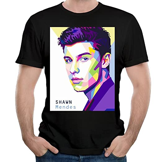 a2d170bb Adela M. Harvey Mans Shawn Mendes Vintage Short Sleeve Top T-Shirts Young  Classic Tee: Amazon.ca: Clothing & Accessories