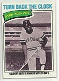 Turn Back the Clock Nate Colbert 1977 Topps Baseball Card #433 San Diego Padres