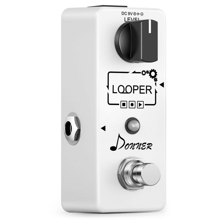 Donner Looper Gitarre Effektpedal 10 Minuten Looping EC839-YPC-DE