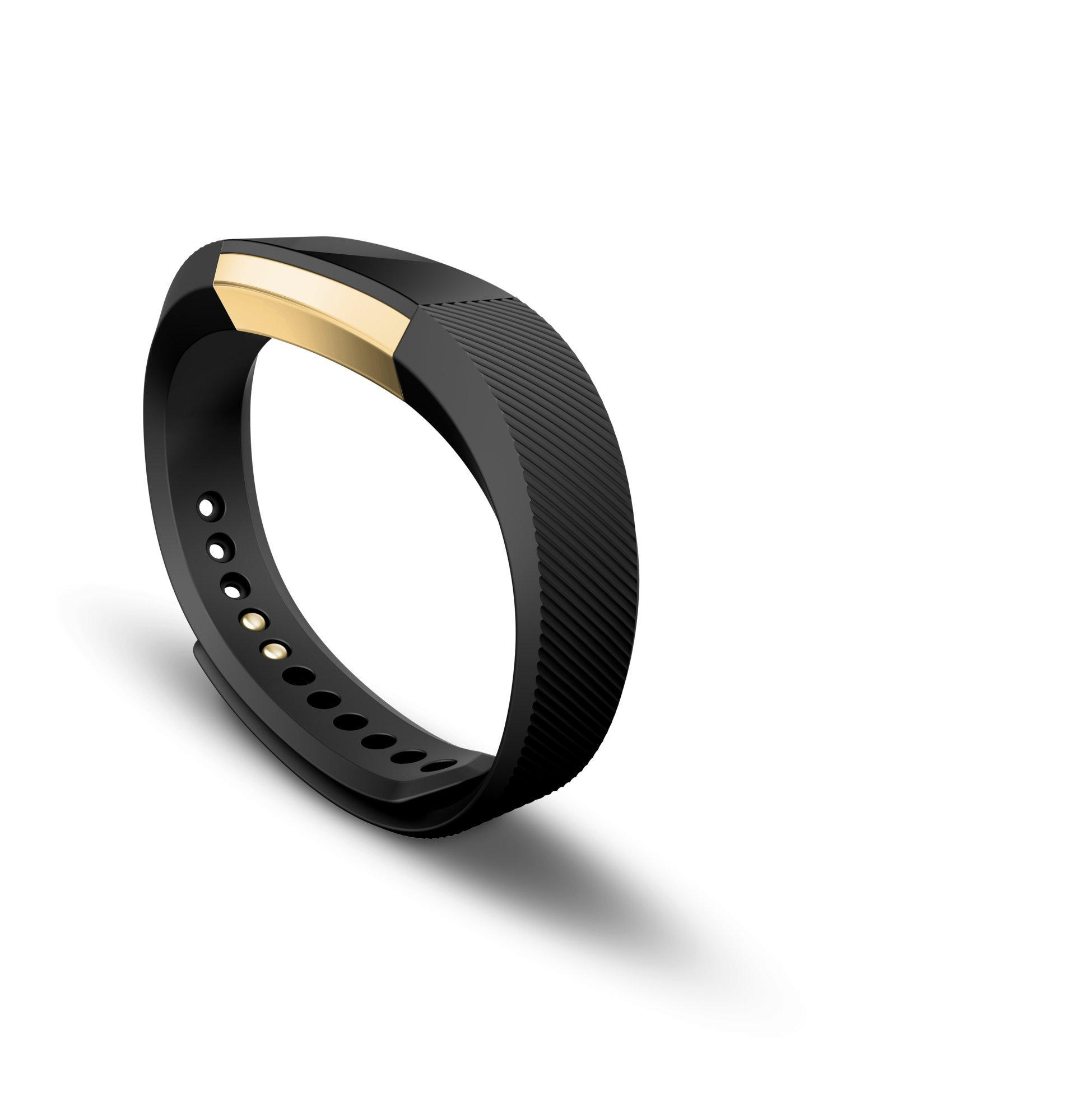 Fitbit Alta Fitness Tracker, Special Edition Gold, Black, Small (US Version) by Fitbit (Image #3)