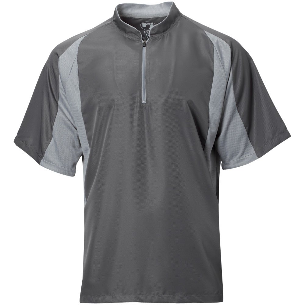 Wire2wire Mens Performance Short Sleeve Cage Jacket Grey/Grey XL by Wire2wire