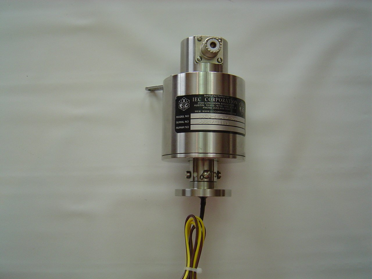 Stainless Steel Flange Mount Slip Ring UHF Connector