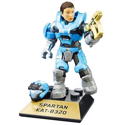 Mega Construx Halo Heroes Pro Builders Series 10 Spartan KAT-B320 Figure GFT38: Toys & Games