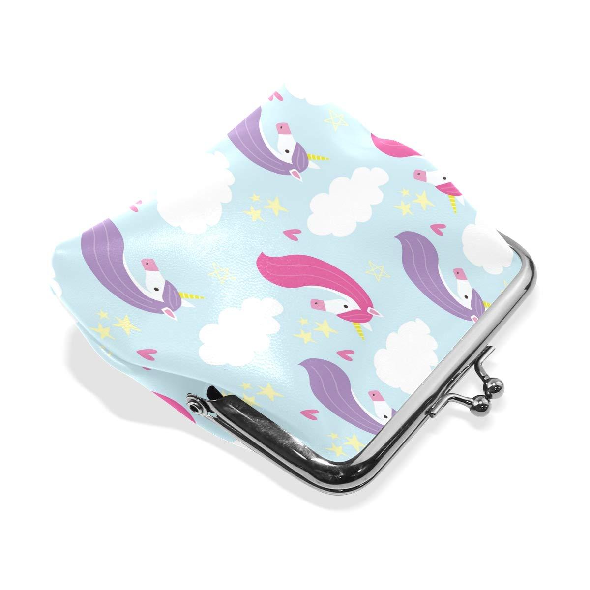LALATOP Unicorn Pattern Womens Coin Pouch Purse wallet Card Holder Clutch Handbag